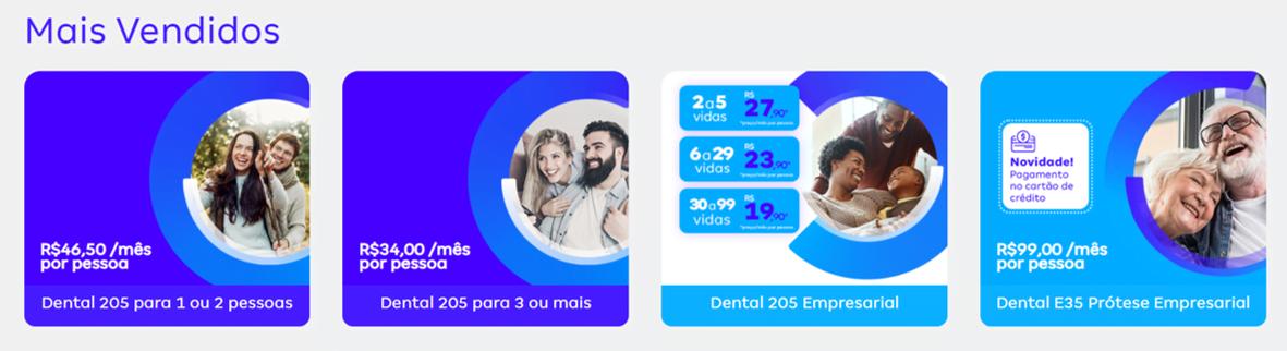 Preços Plano Dental Amil
